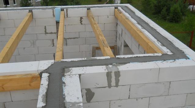 Армопояс из стеклопластиковой арматуры для армирования стен из блоков и кирпича